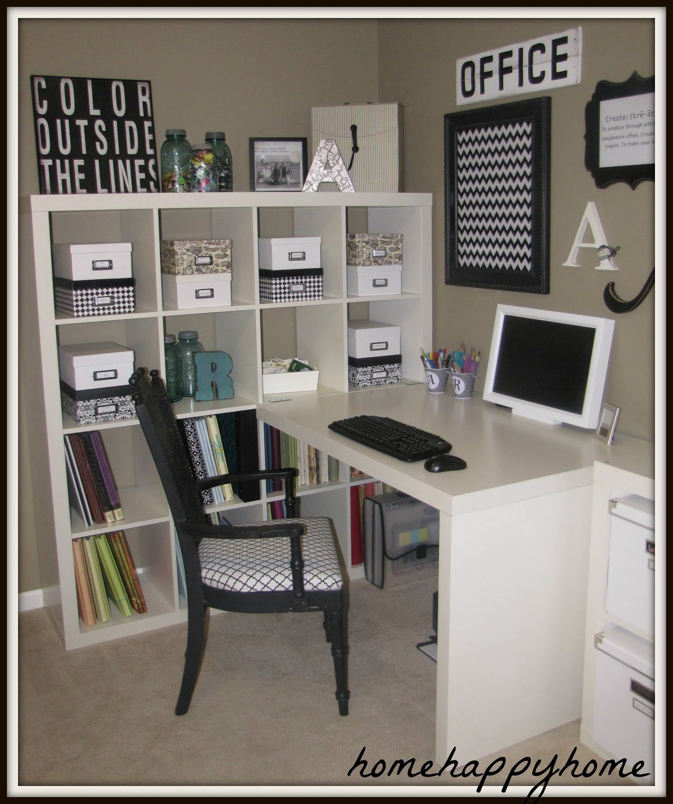 Craft Room Great Organization For Office Or Craft Room