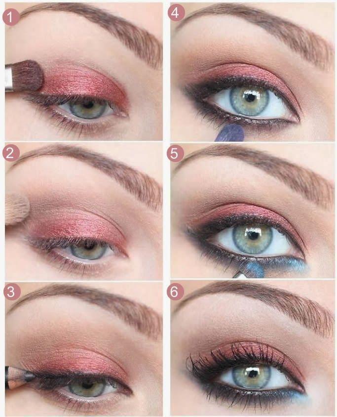 15 Ideas para Maquillaje Rosa en Sombra de Ojos | maquillajes 15 ...