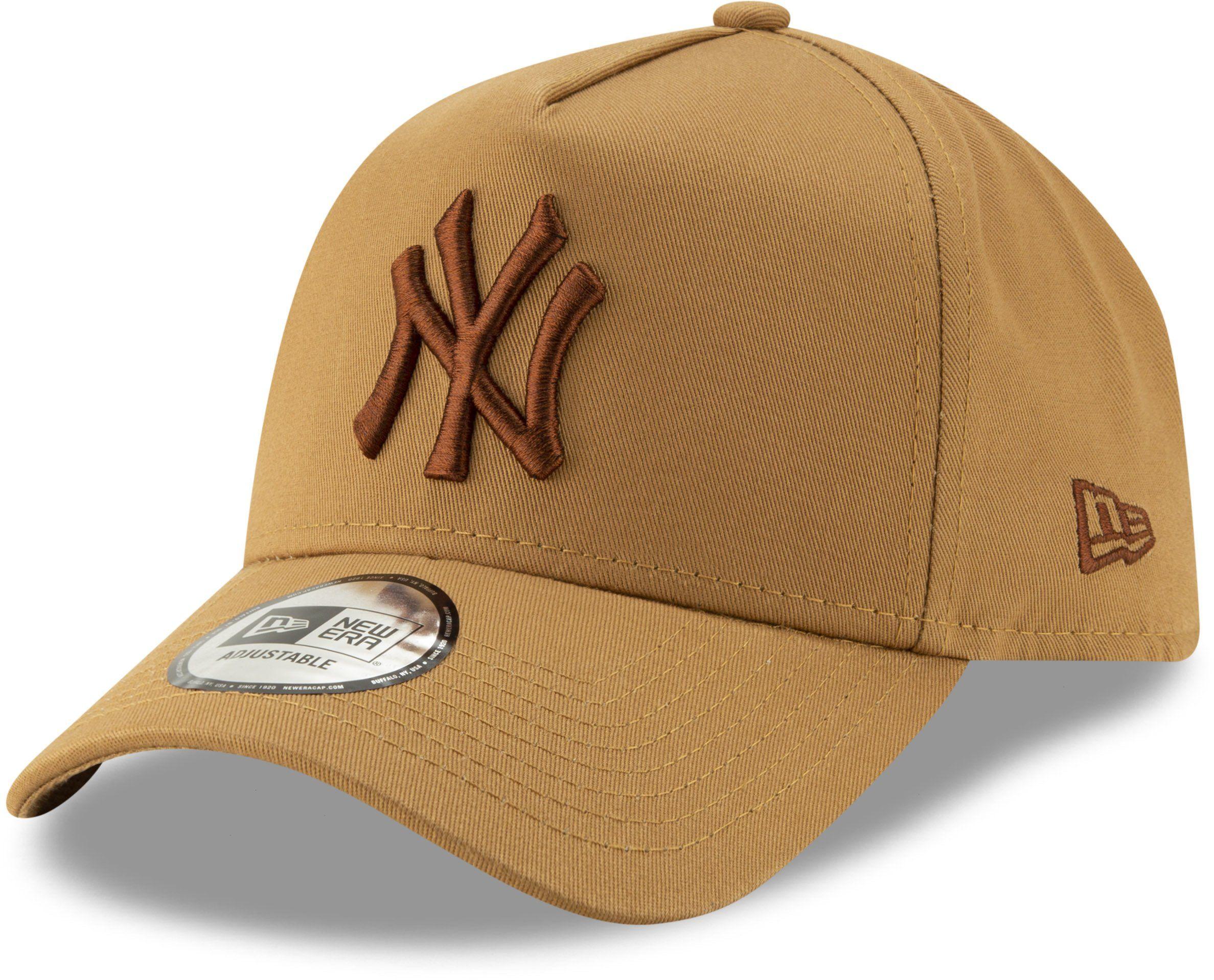6f329bbb5 NY Yankees New Era Leaue Essential A-Frame Baseball Cap - Wheat ...