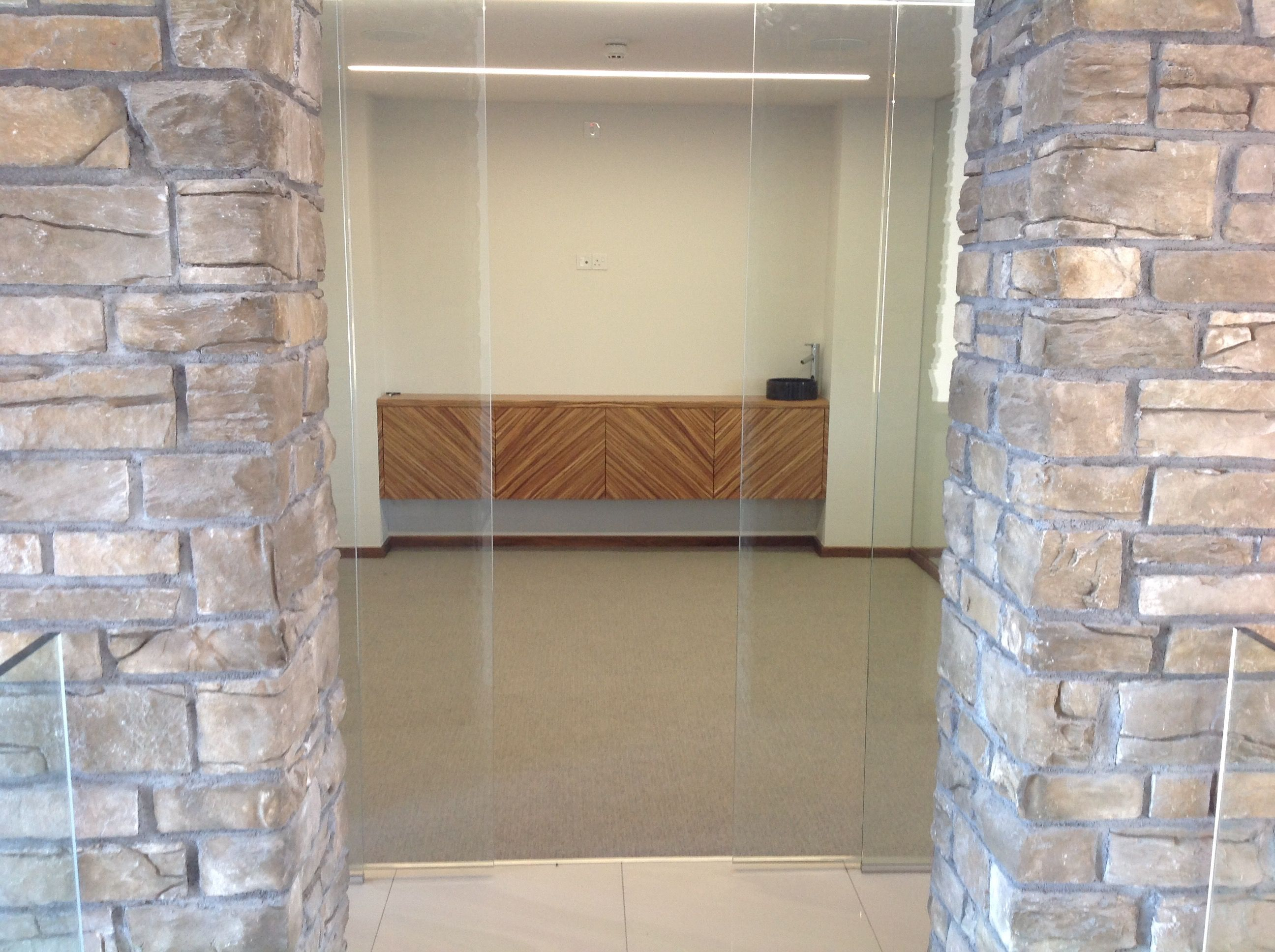 Zebrano cabinet with push to open doors & Zebrano cabinet with push to open doors | Custom interiors fine ... Pezcame.Com
