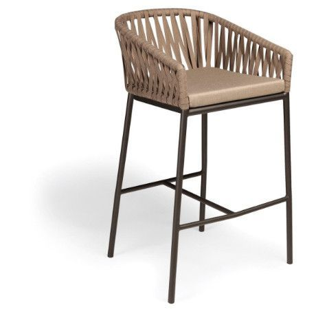 Kettal Bitta Bar Stool With Arms Bar Stool Furniture Bar Stools