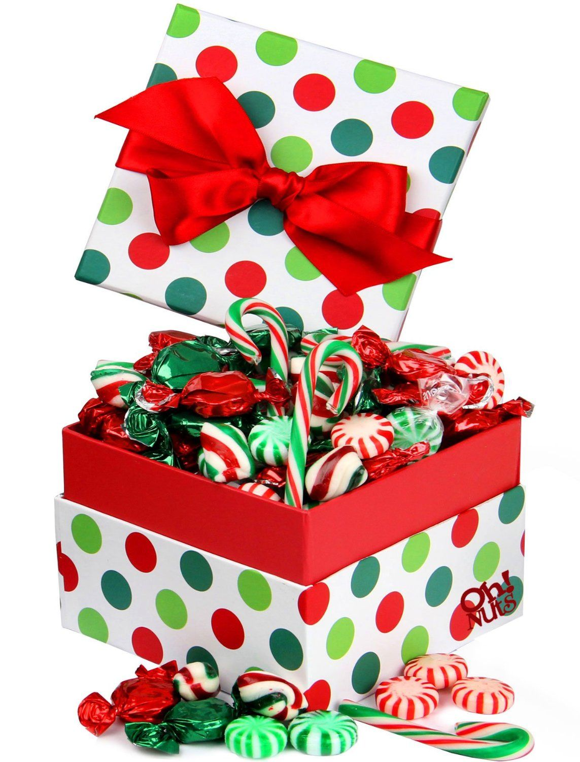 Old Fashioned Assorted Hard Candy in a Jovial Dot Candy Gift Box ...