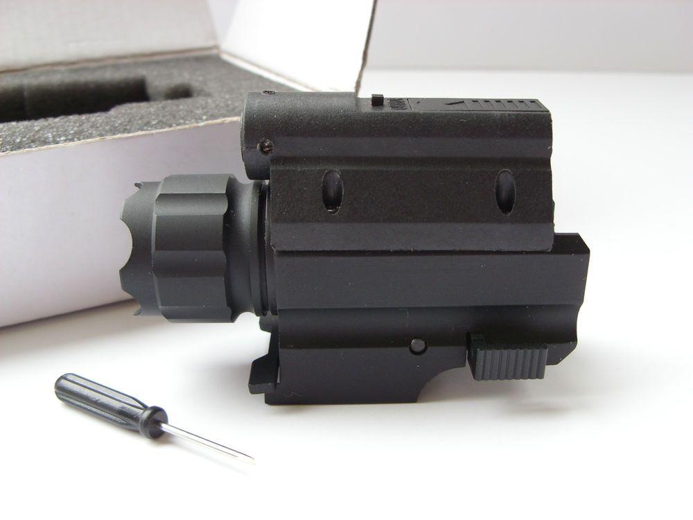 Extreme tactical laser light strobe combo wbox