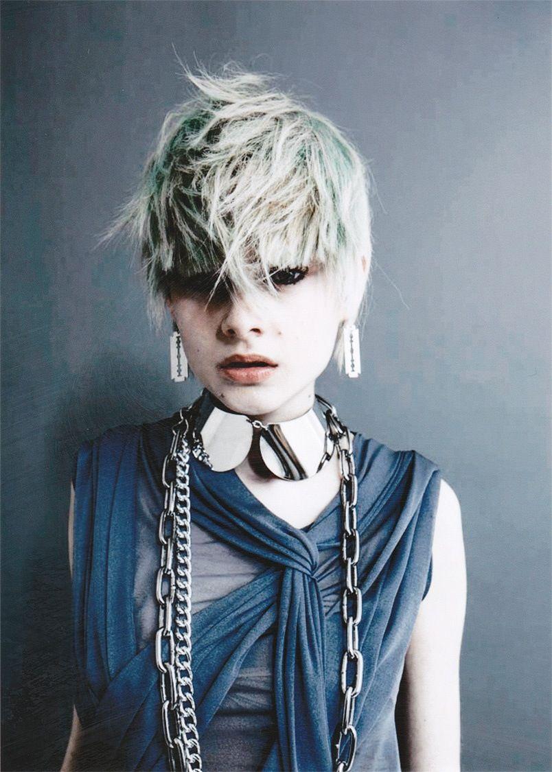 blue edge hair
