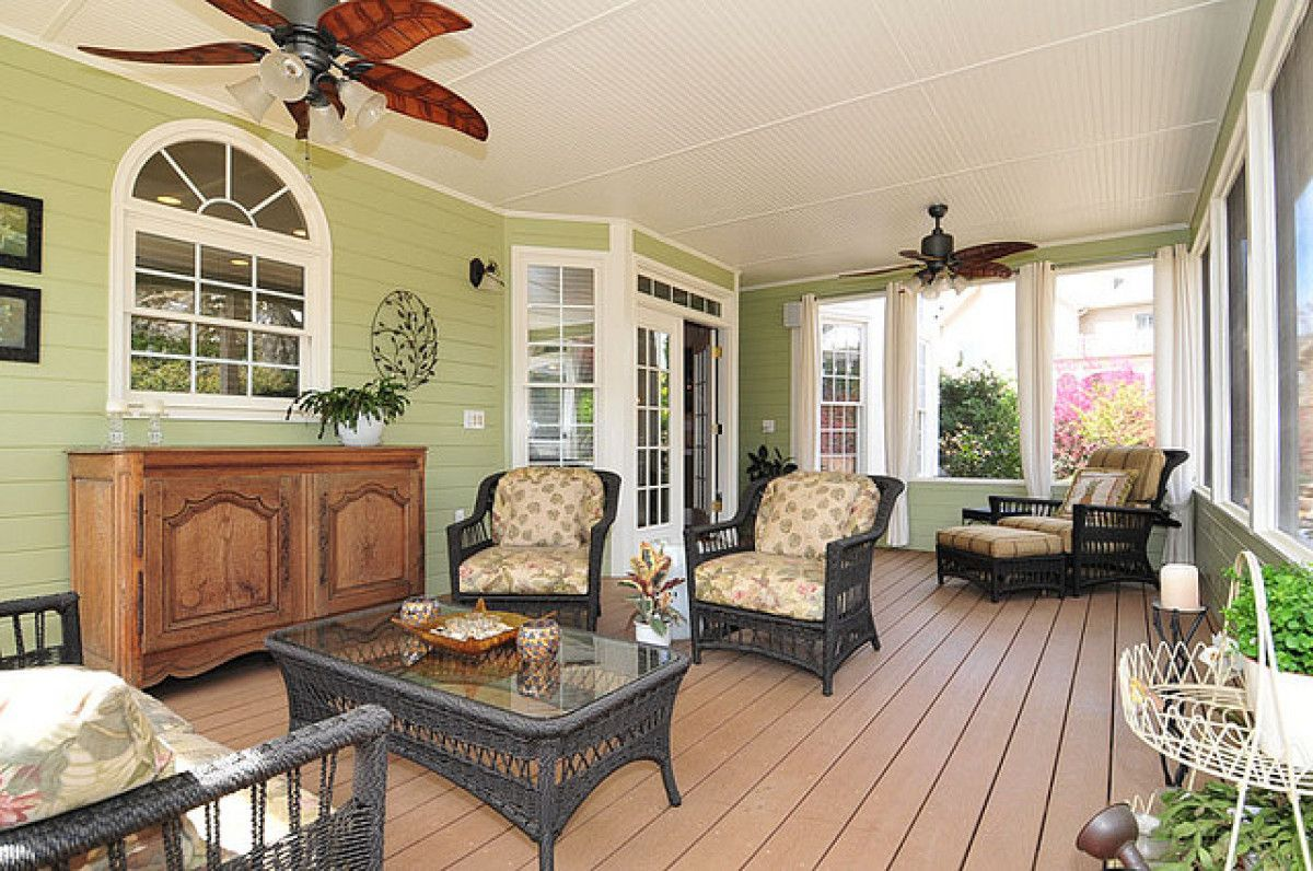10 Impressive Sunrooms That We Need To Sip Lemonade In Now Photos Porch Makeover House With Porch Florida Room