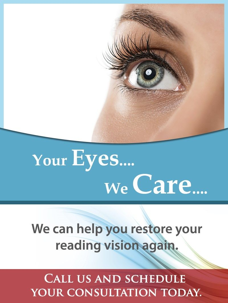 Your Eyes.... We Care.... Call us at (813) 9070950 and