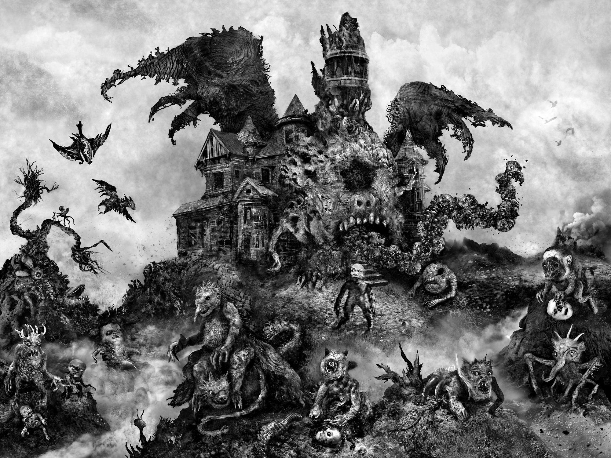 DXM Trip | Published March 4, 2012 at 2000 × 1500 in The Fascinating Monsters of ...