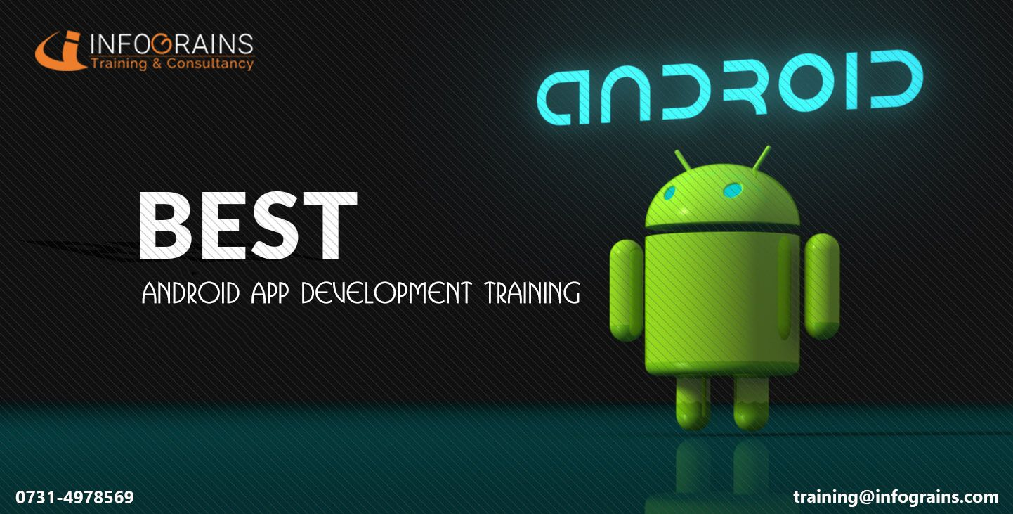 Having Passion towards Android Apps Development. Get