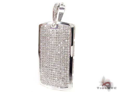 White pave dog tag mens diamond pendant white gold 10k stuff to white pave dog tag mens diamond pendant white gold 10k mozeypictures Choice Image
