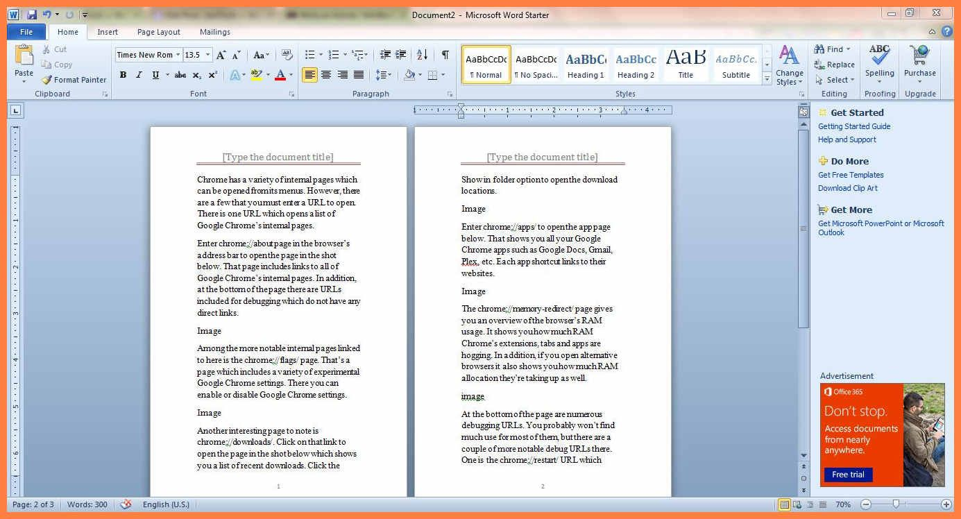 5+ Free Booklet Templates For Word in 2020 Booklet
