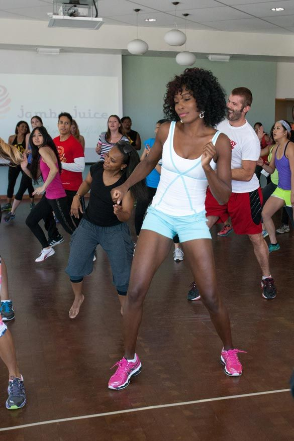 Fit Tip Friday Stay Motivated By Trying One Of These New Fitness And Nutrition Trends Venus And Serena Williams Fitness Trends Venus Williams