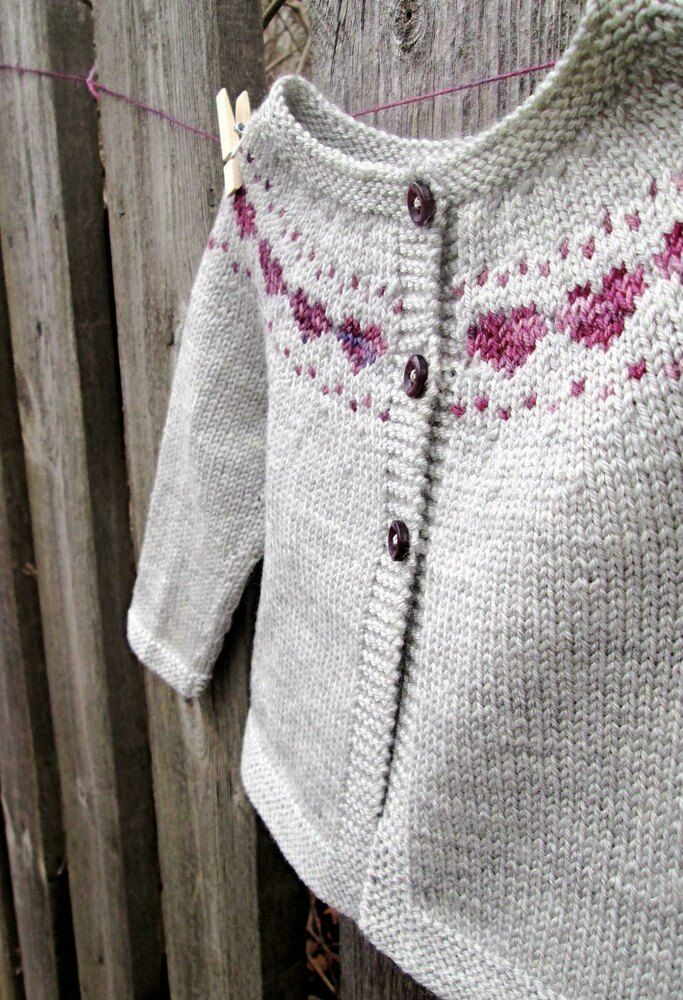 Little Hearts Knitting pattern by Maria Montzka | Knitting Patterns | LoveKnitting