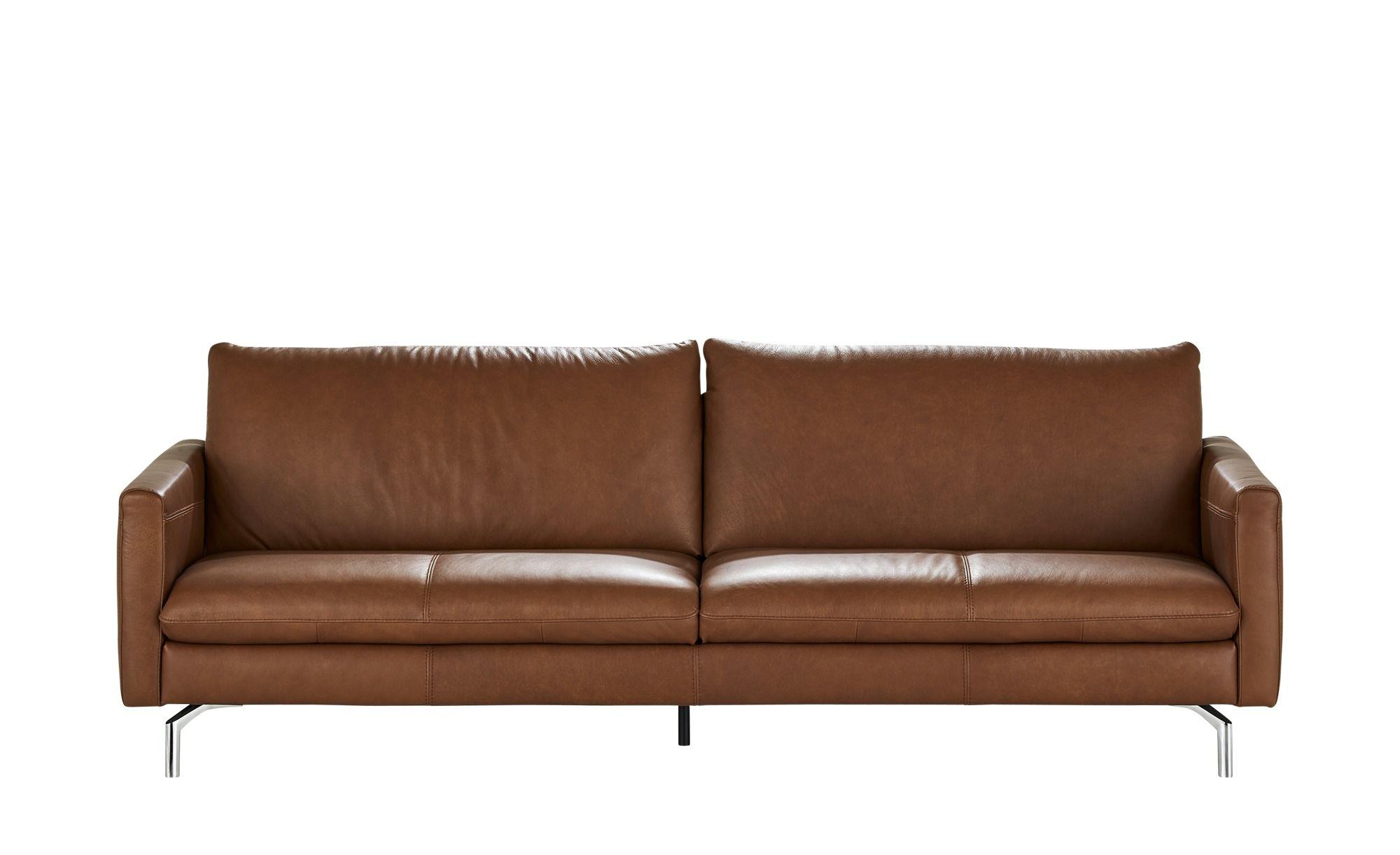 Natuzzi Editions Leder Sofa Premura Braun Masse Cm B 239 H