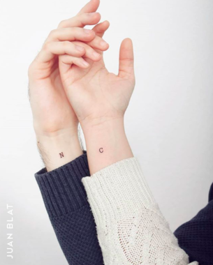 20 Subtle but Creative Couple Tattoos to Celebrate Loving Each Other
