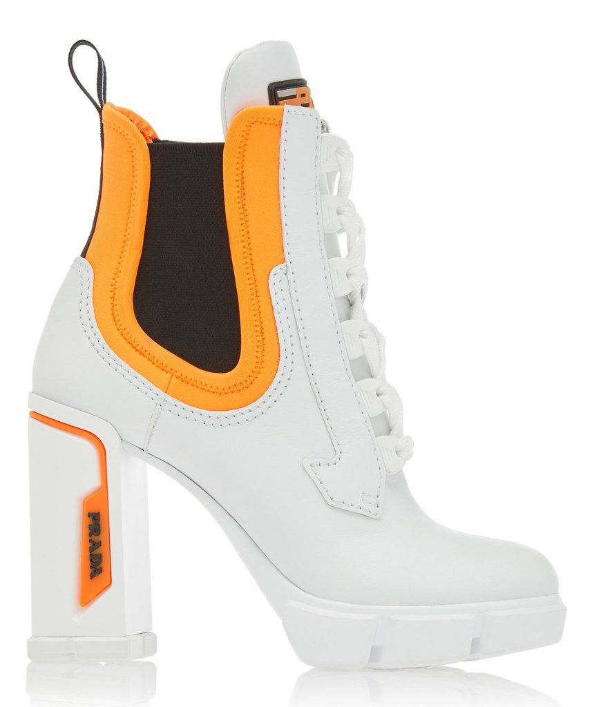 4e520db227 Tronchetti' Bootie, White | Shoes in 2019 | Shoes, Leather ankle ...