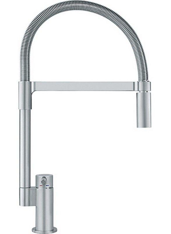 Manhattan Pull Down Single Handle Kitchen Faucet Faucet Sink