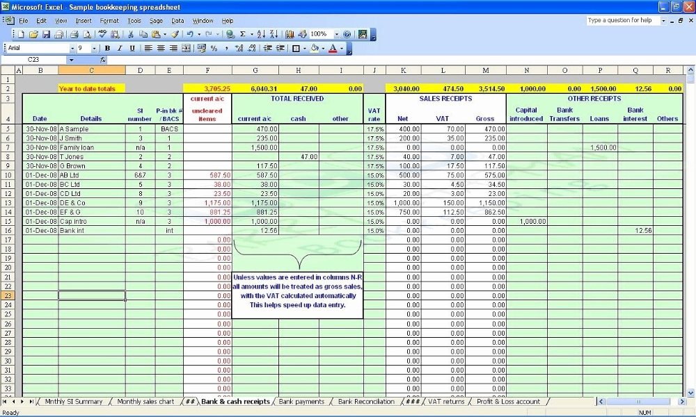 Small Business Accounting Spreadsheet Template Accounting Intended For Small Business A Excel Spreadsheets Templates Spreadsheet Template Bookkeeping Templates
