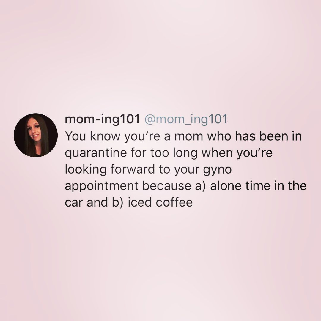 Funny Motherhood Tweets Gyno Appointment Funny Tweets Funny Motherhood