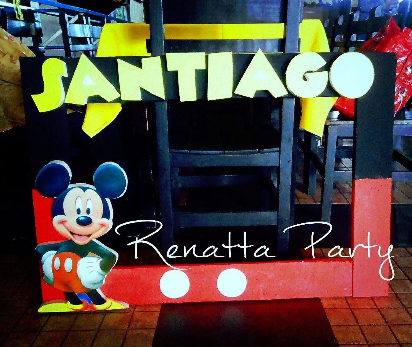 Marco para fotos de Mickey | Renatta Party | Pinterest | Mickey mouse