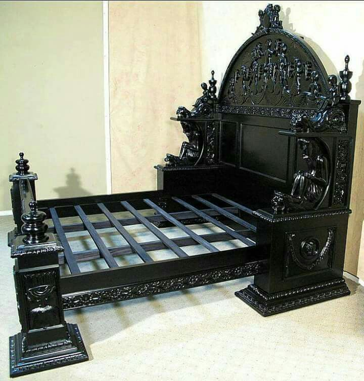 Beautiful Gothic Baroque King Bed Frame Who Would Love