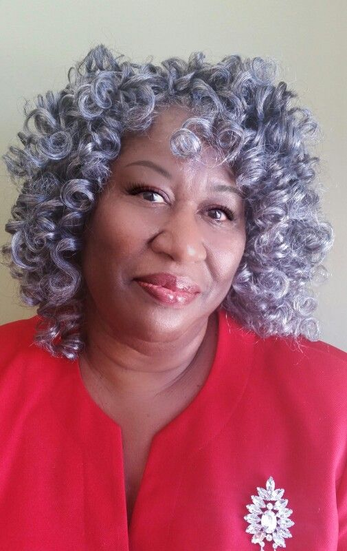 Crochet Braids Grey Hair : Crochet Braid Roller Set with Yaky Pony by Biba in colors 51 & 44 ...