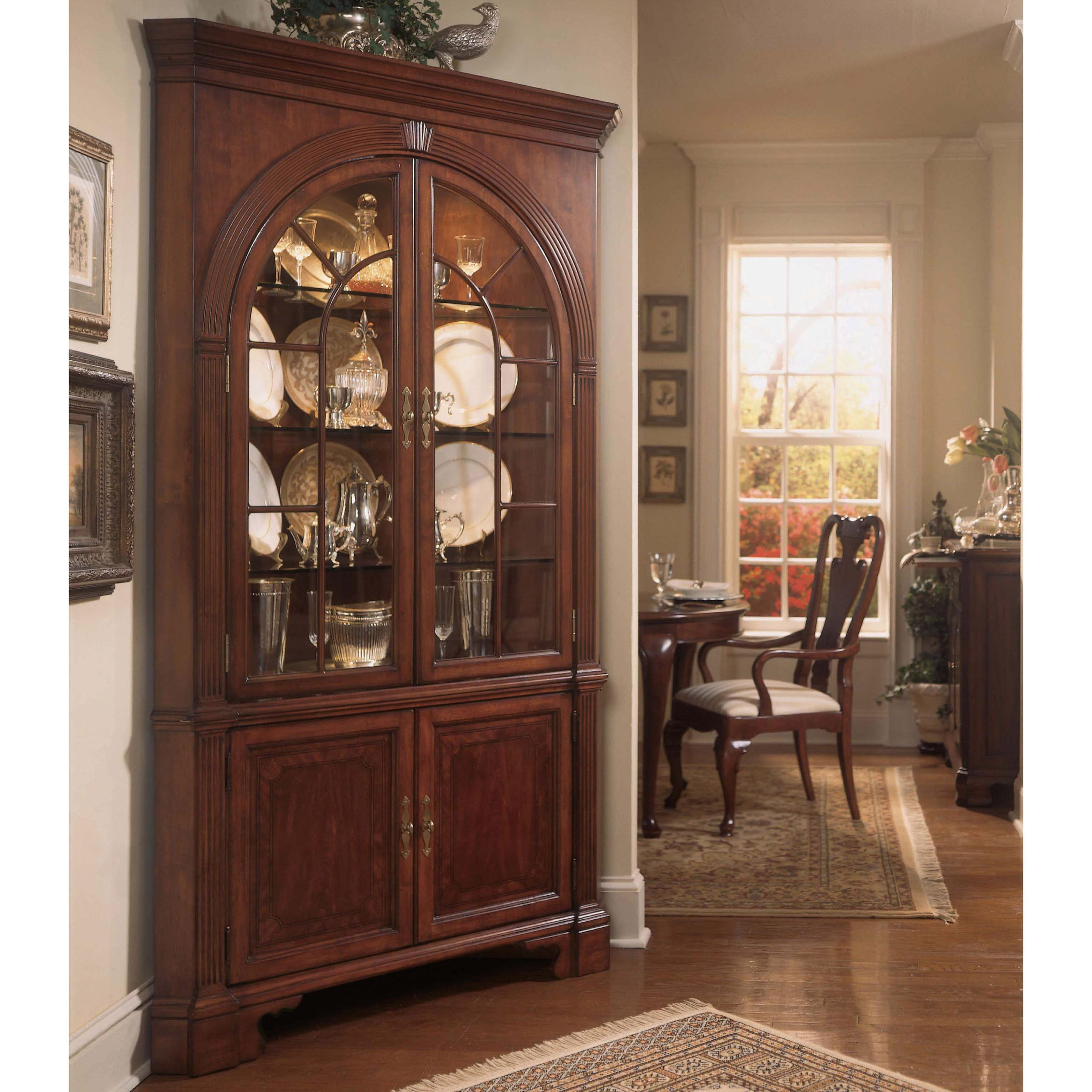 Have to have it. American Drew Cherry Grove Corner China Cabinet ...