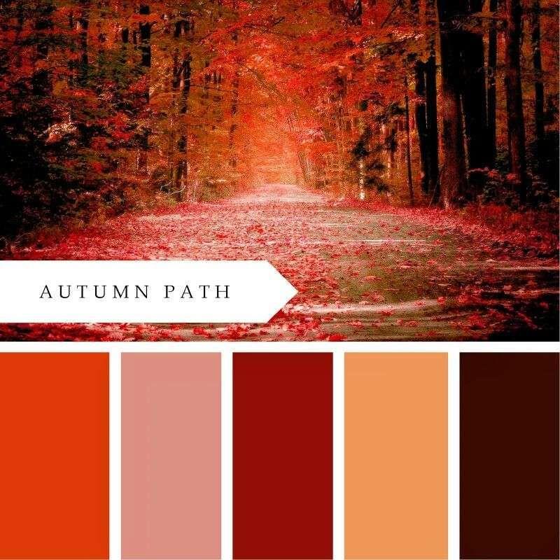 Luxury Orange Color Schemes Of More Red Lauren S Wedding Ideas