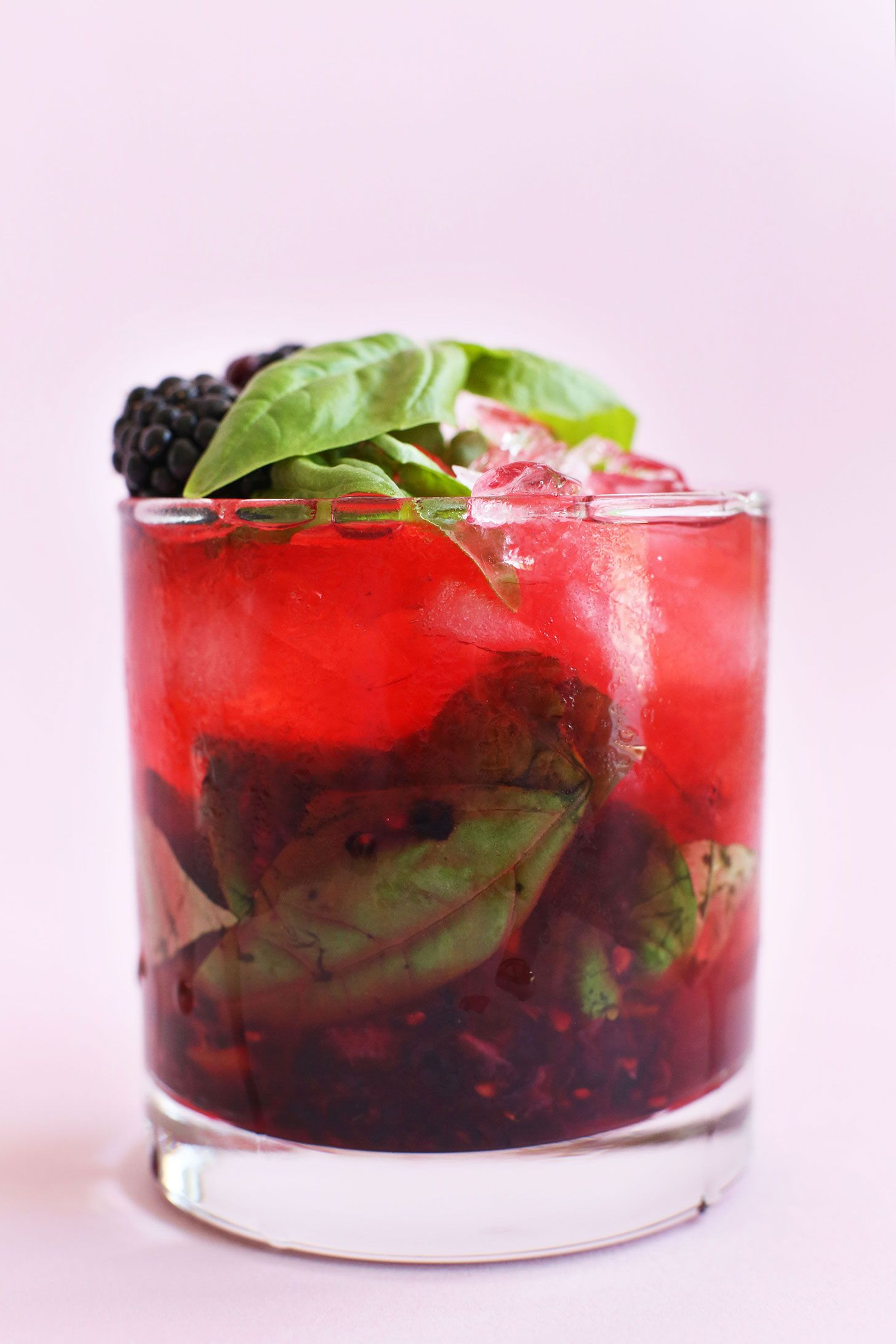 Blackberry Basil Mojito Minimalist Baker Recipes Recipe Mojito Food Food And Drink