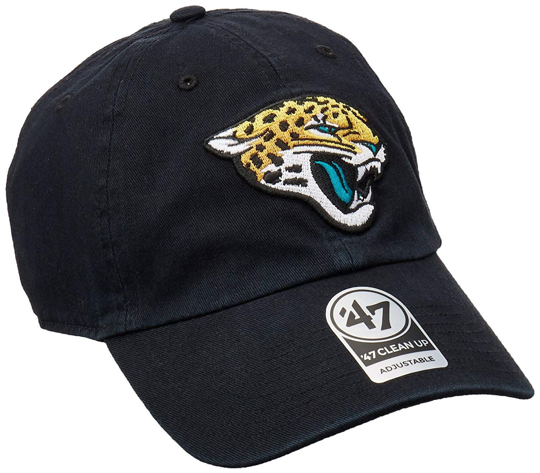 detailed look 3458a 17d31 NFL Jacksonville Jaguars Clean Up Adjustable Hat,  22.88