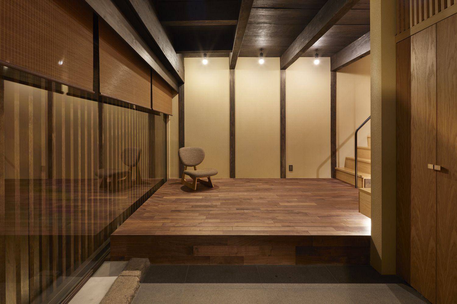 Gallery Of Guest House In Kyoto Blue Architecture Design - Architecture-design-in-kyoto-japan