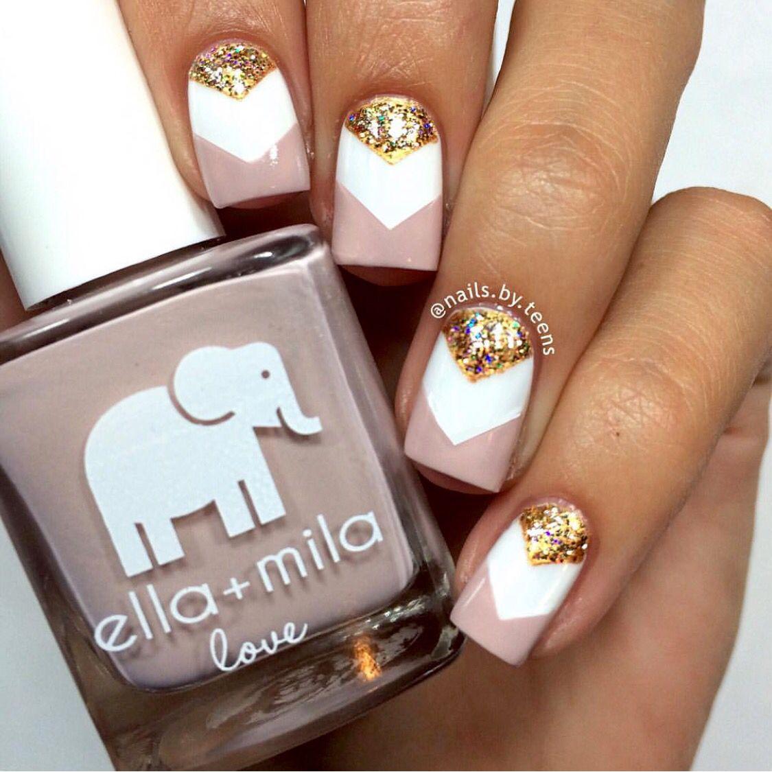 Ella+mila love   All Nails Baby...   Pinterest