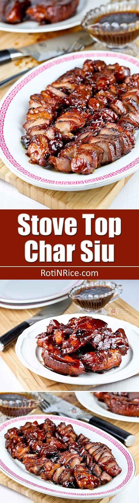 Stove Top Char Siu (Chinese BBQ Pork)