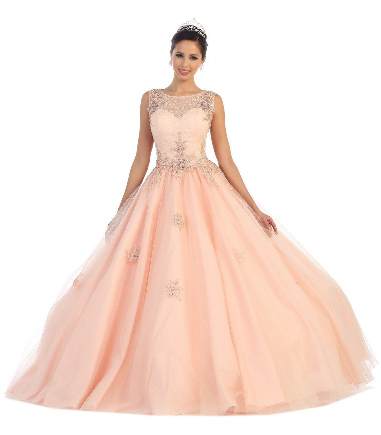 Thedressoutlet quinceanera long dresses sweet prom gown sweet