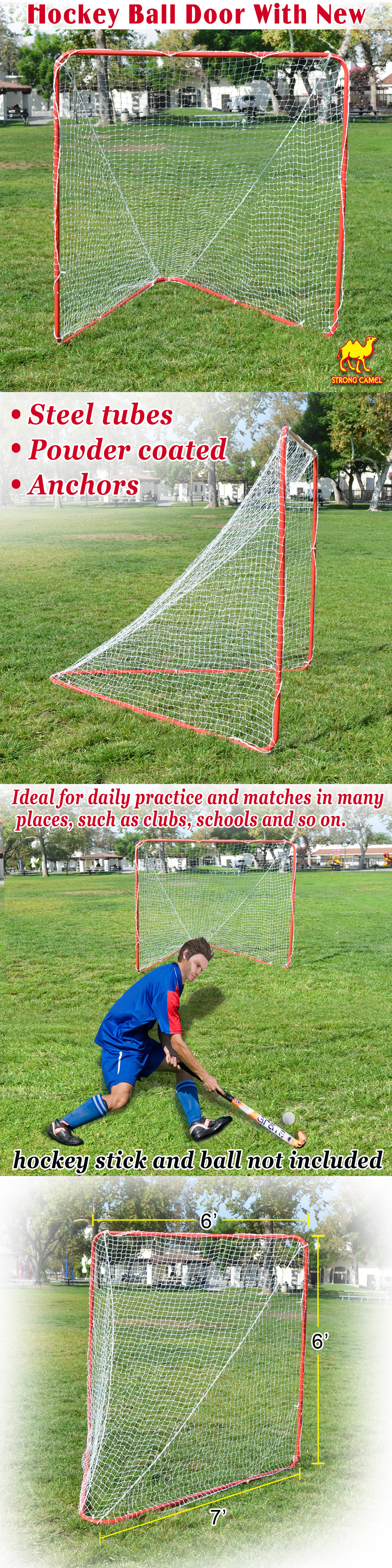 other lacrosse 16043 new 6 x 6 x 7 portable lacrosse practice net