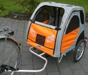 Comfort Wagon Gefederter Aluminium Hundeanhanger L Http Www