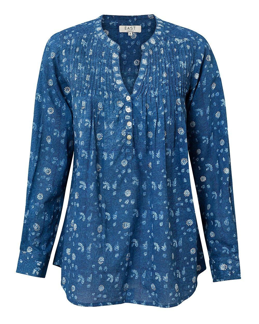 Neelam print pintuck blouse costura pinterest silhouettes neelam print pintuck blouse blousesewing jeuxipadfo Image collections