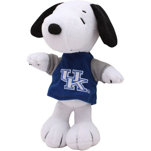 Kentucky Wildcats Peanuts Snoopy 8 Shirtable Plush Stuffed