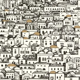 Wallpaper By Piero Fornasetti