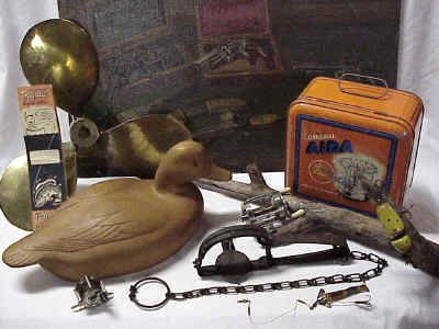 Hunting Fishing Trapping Camping Collectables