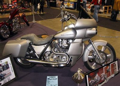 Toronto January Bike Show Pictures - The Sportster and Buell
