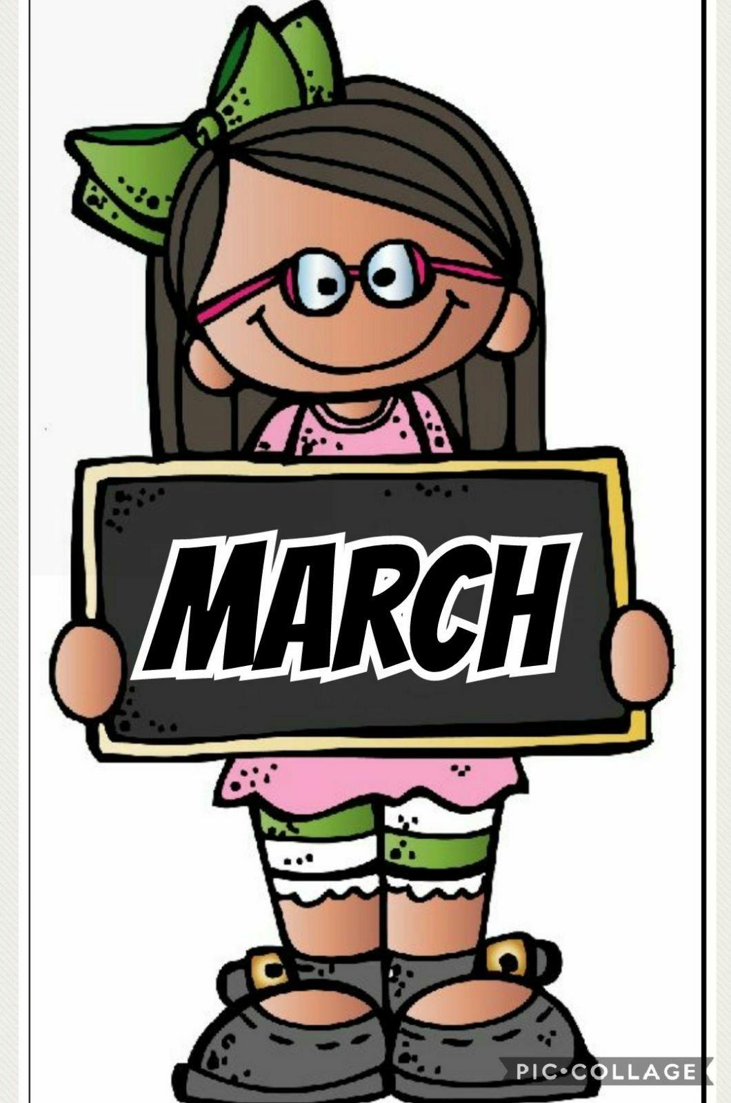 calendar march calendars school posters clip art y