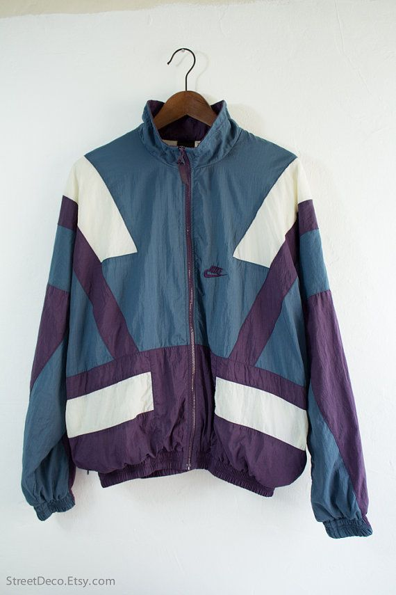 Vintage 90s Nike Sportswear Windbreaker Jacket (Medium