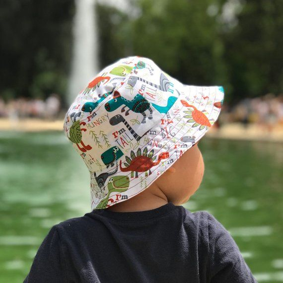 Bucket Hat Kids Unisex Infants Hat Summer Hat Toddler s Hat Beach Hat  Handmade Anchors Hat Sharks Ha 6e02c6dbedd3