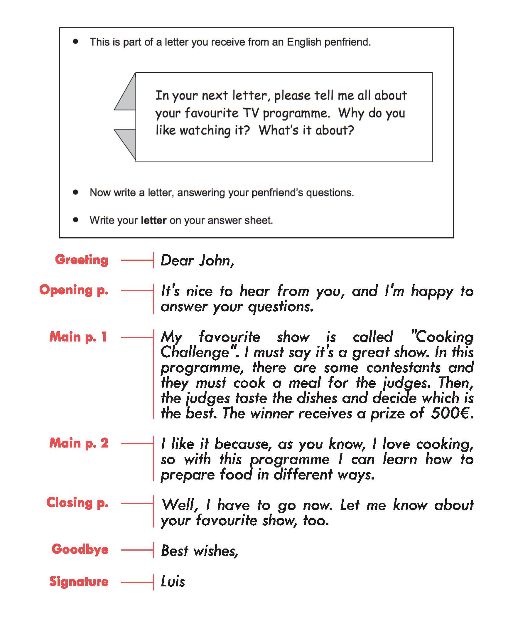Como Escribir Un Email Para El Writing B1 Preliminary Pet