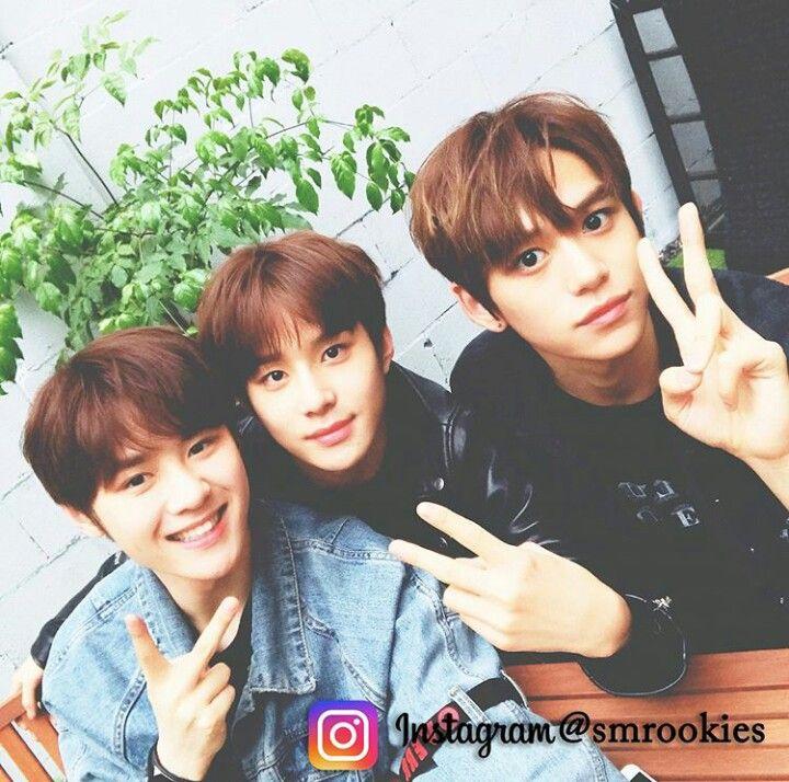 Jungwoo, Kun, Lucas Smrookies