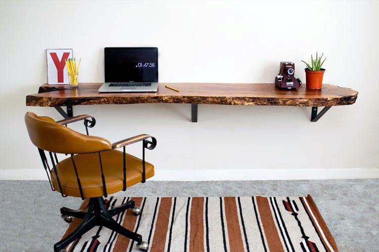 Surprising Floating Desk Canadian Tire Just On Homesable Home Design Live Edge Wood Desk Home Office Furniture Floating Desk