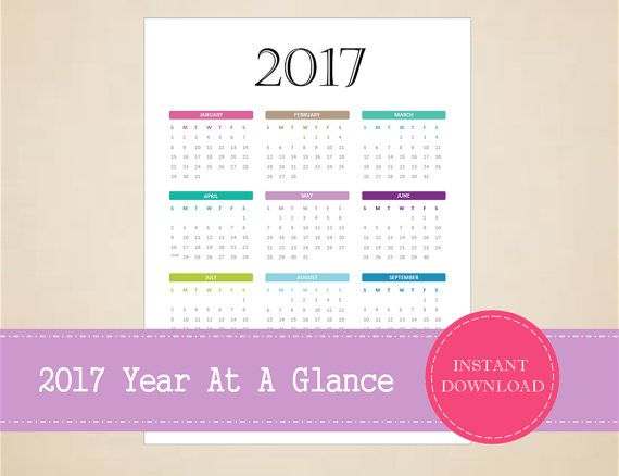 search results for at a glance 5 year month calendar wall art