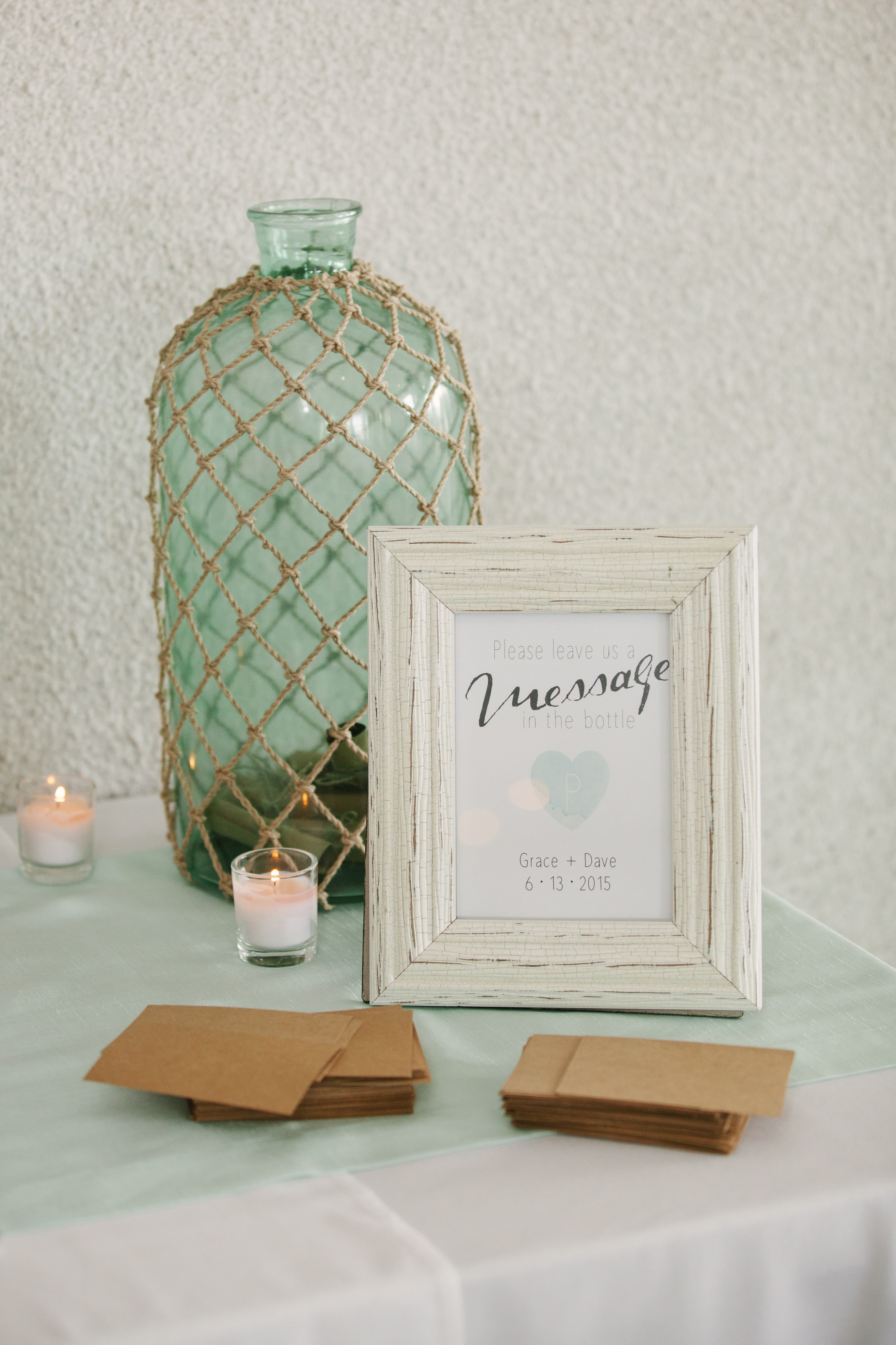 Message in a Bottle Guest Book | My Style | Pinterest | Messages ...