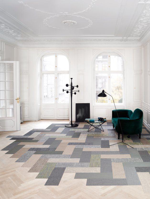 Woven Vinyl Flooring Interiors Architecture
