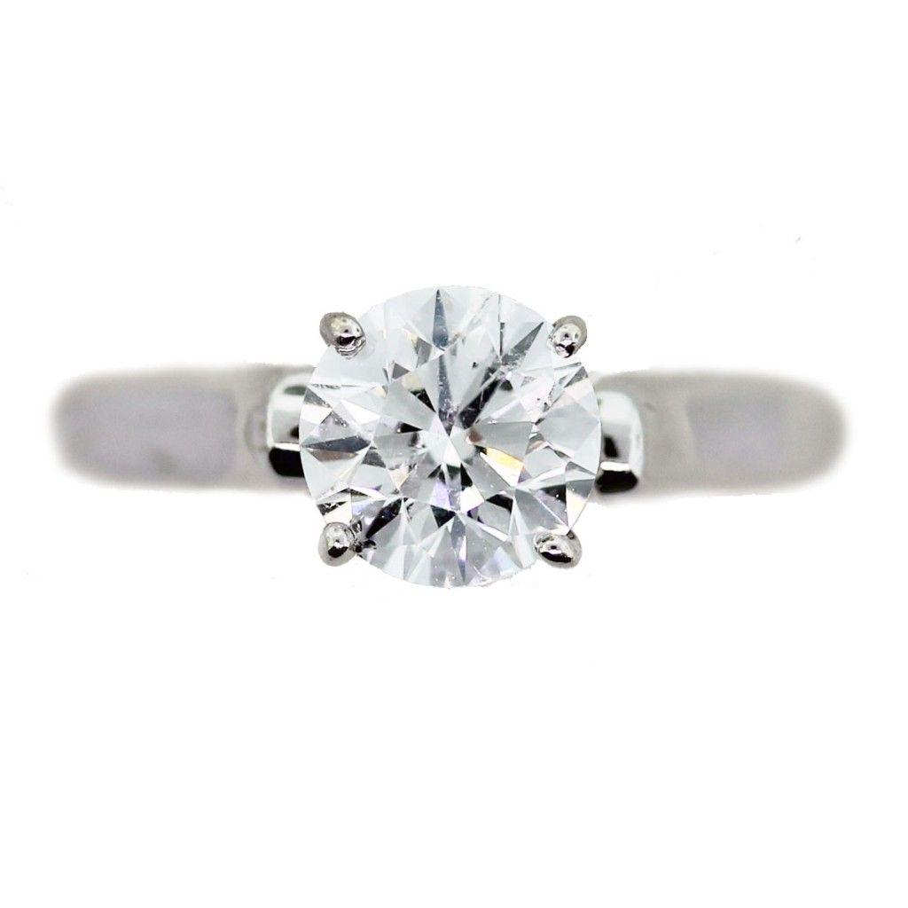 Round Brilliant and Princess Cut Diamond Rings Win Popularity